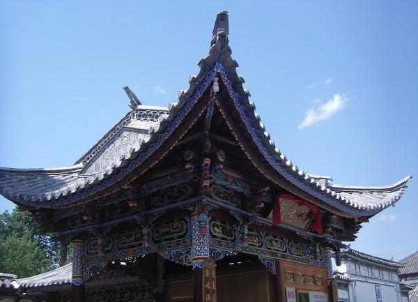 中国古建筑最爱使用的元素