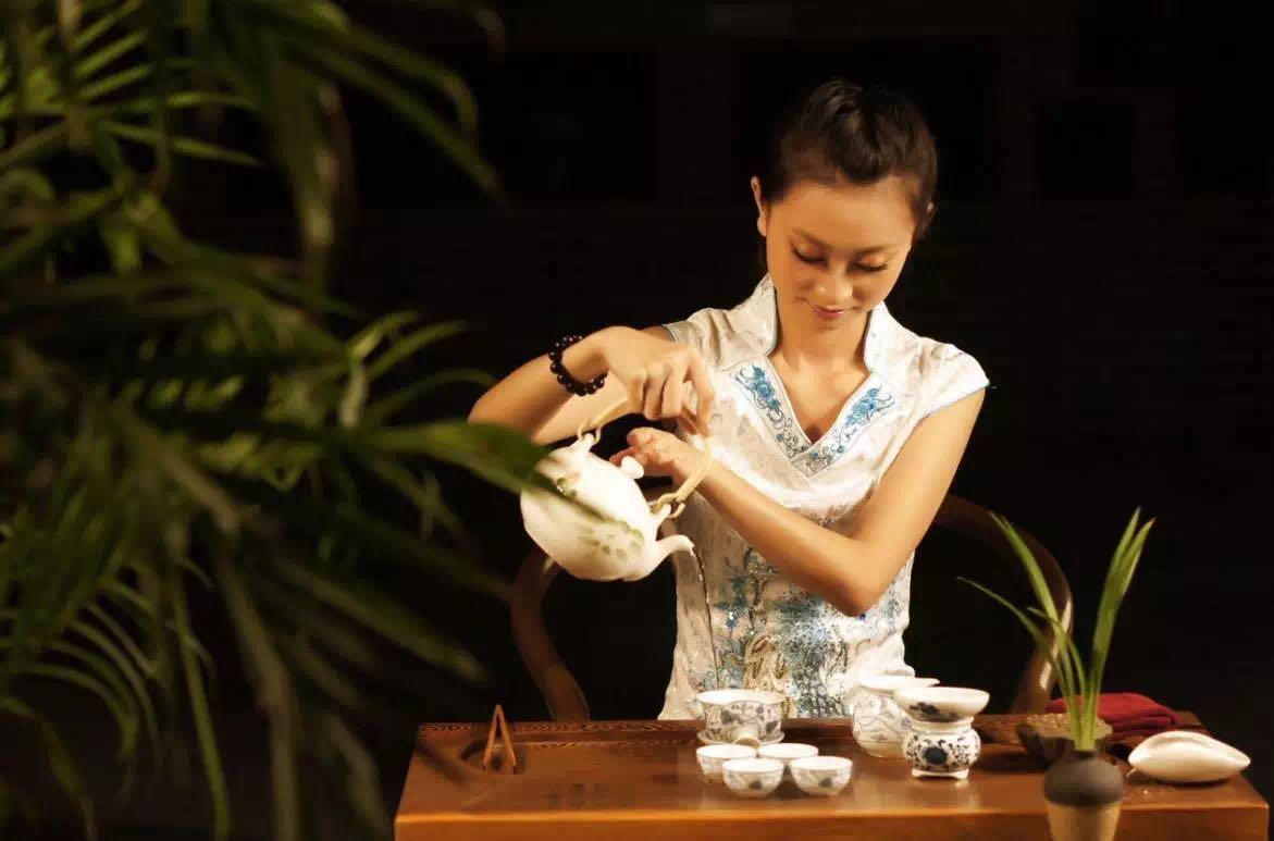 准备喝茶开始的步骤