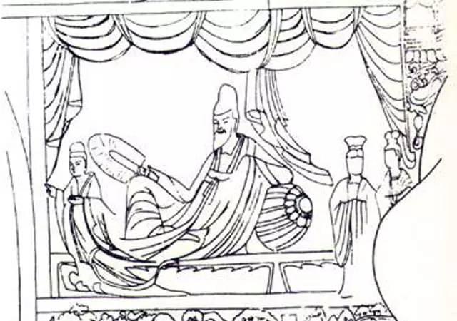 古代椅子手绘图片大全
