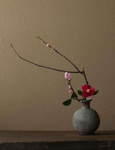 东方禅意的插花艺术